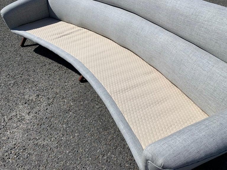 Illum Wikkelso-Mikael Laursen 4-Seat Sofa-Denmark, 1960s 4