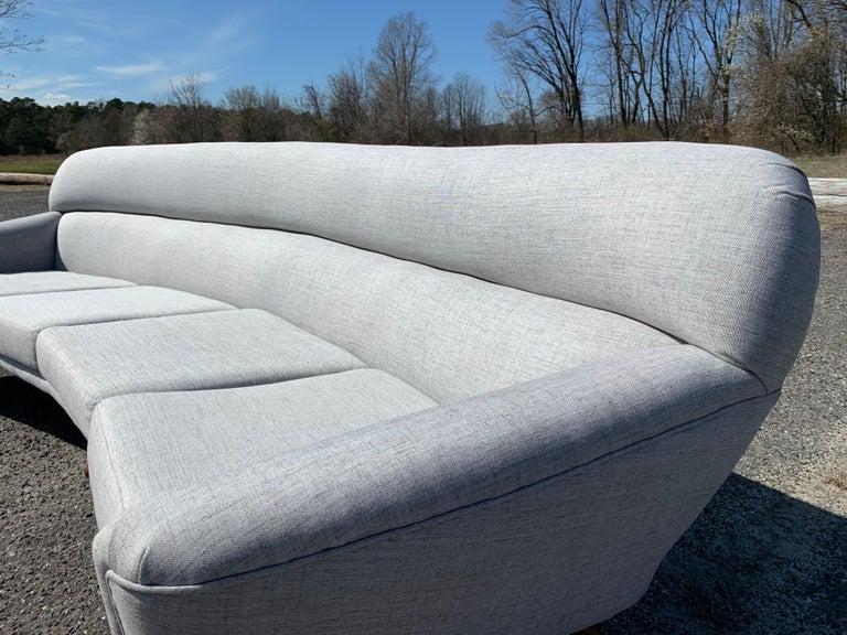 Illum Wikkelso-Mikael Laursen 4-Seat Sofa-Denmark, 1960s In Good Condition In Southampton, NJ