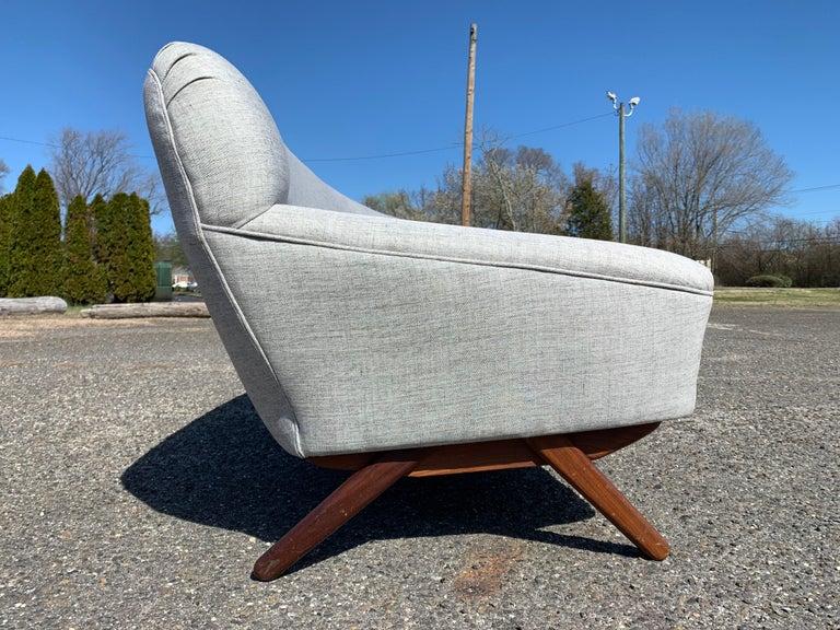 Cotton Illum Wikkelso-Mikael Laursen 4-Seat Sofa-Denmark, 1960s