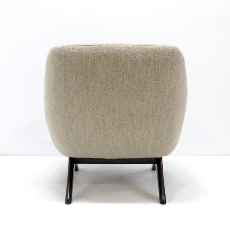Stained Illum Wikkelso ML-90 Armchair, 1960s For Sale