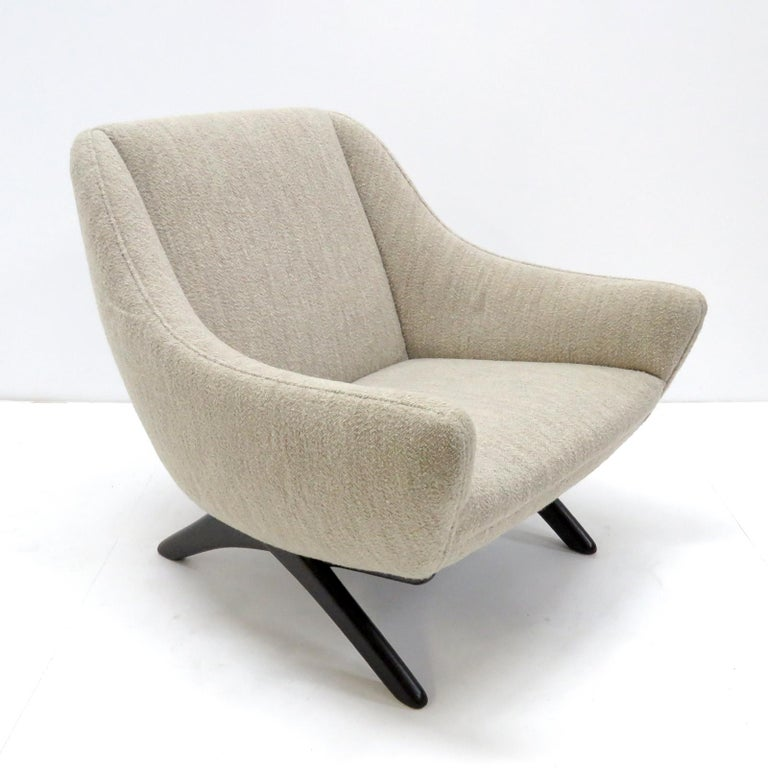 Mid-20th Century Illum Wikkelso ML-90 Armchair, 1960s For Sale