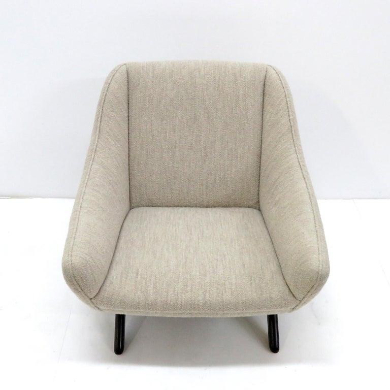 Oak Illum Wikkelso ML-90 Armchair, 1960s For Sale
