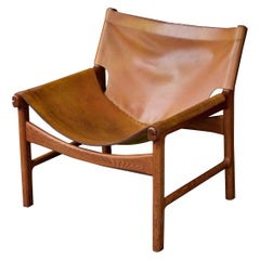 Illum Wikkelso Nº 103 Leather Sling Chair