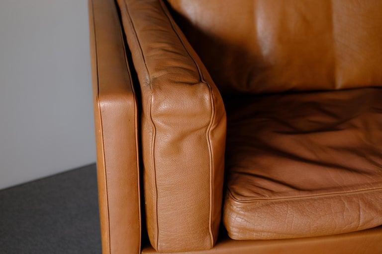 Scandinavian Modern Illum Wikkelso Sofa by Holgar Christensen For Sale