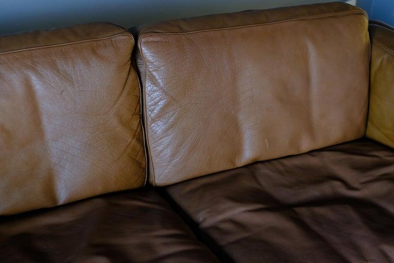 Danish Illum Wikkelso Sofa by Holgar Christensen For Sale