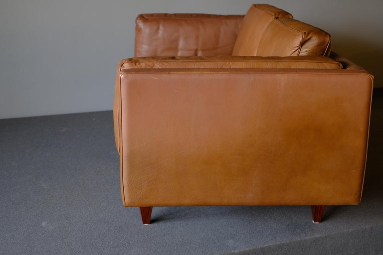 Illum Wikkelso Sofa by Holgar Christensen In Good Condition For Sale In Singapore, SG