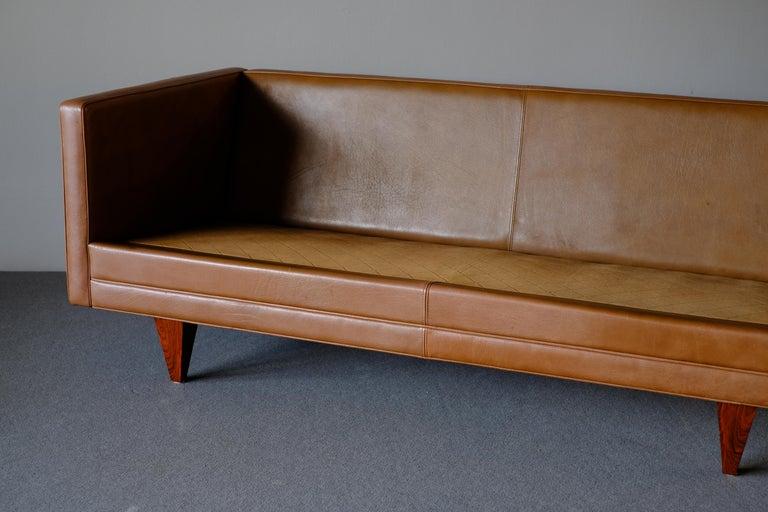 20th Century Illum Wikkelso Sofa by Holgar Christensen For Sale
