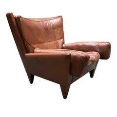 Illum Wikkelso V11 Pyramid Lounge Chair for Holger Christiansen