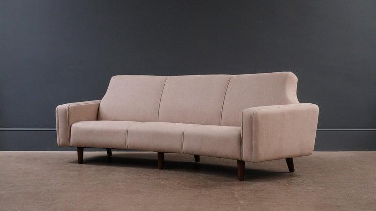 Scandinavian Modern Illum Wikkeslo Sofa For Sale