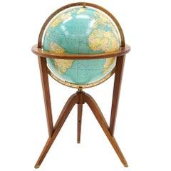 "Illuminated ""Cosmopolitan"" Globe by Edward Wormley for Dunbar"