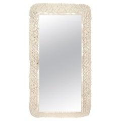 Illuminated Lucite Vanity Mirror by Hillebrand