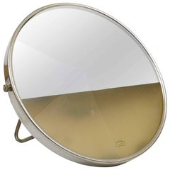 Illuminated Shaving or Vanity Mirror by Marcel Breuer, Bauhaus for Zeiss Ikon