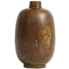 Illums Bolighus Bronze Vase, Signed