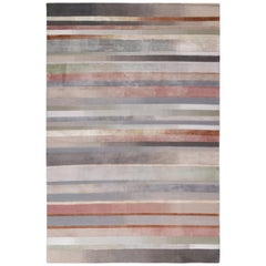 Illusion 9'x6' Illusion Hand-knotted 10'x7' in Wool and Silk by Paul Smith