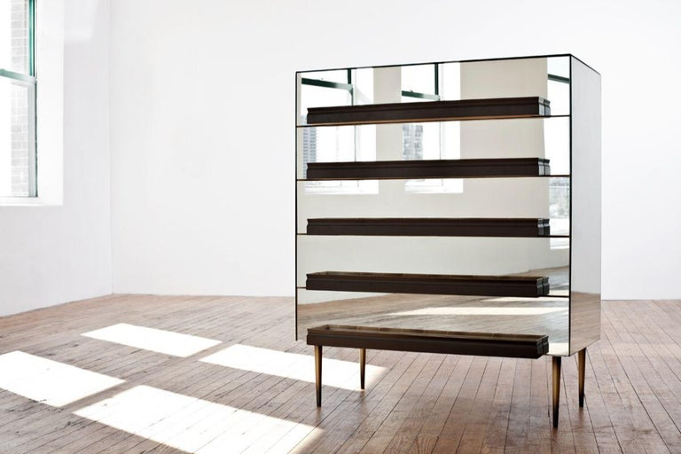 Modern Illusion Dresser by Luis Pons For Sale