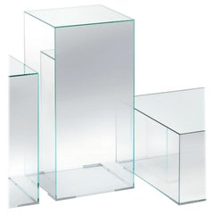 Illusion ILL03 Large Tall Low Table, by Jean-Marie Massaud from Glas Italia
