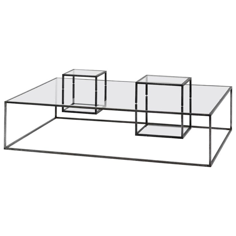 Illusioni Large Coffee Table by Sebastiano Tosi & Mogg For Sale