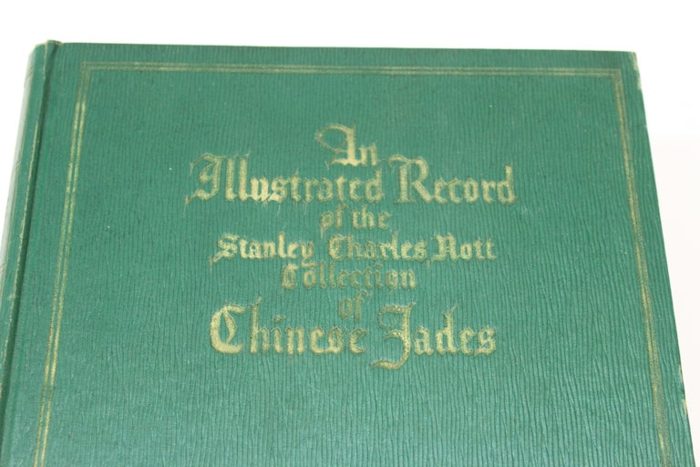 Art Deco Illustrated Book of The Stanley Charles Nott Collection of Chinese Jades For Sale
