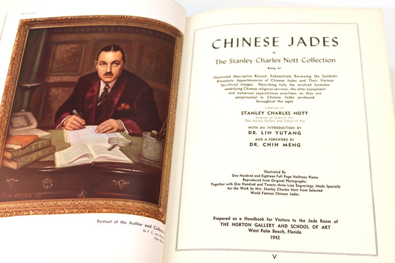 Illustrated Book of The Stanley Charles Nott Collection of Chinese Jades In Good Condition For Sale In New York, NY