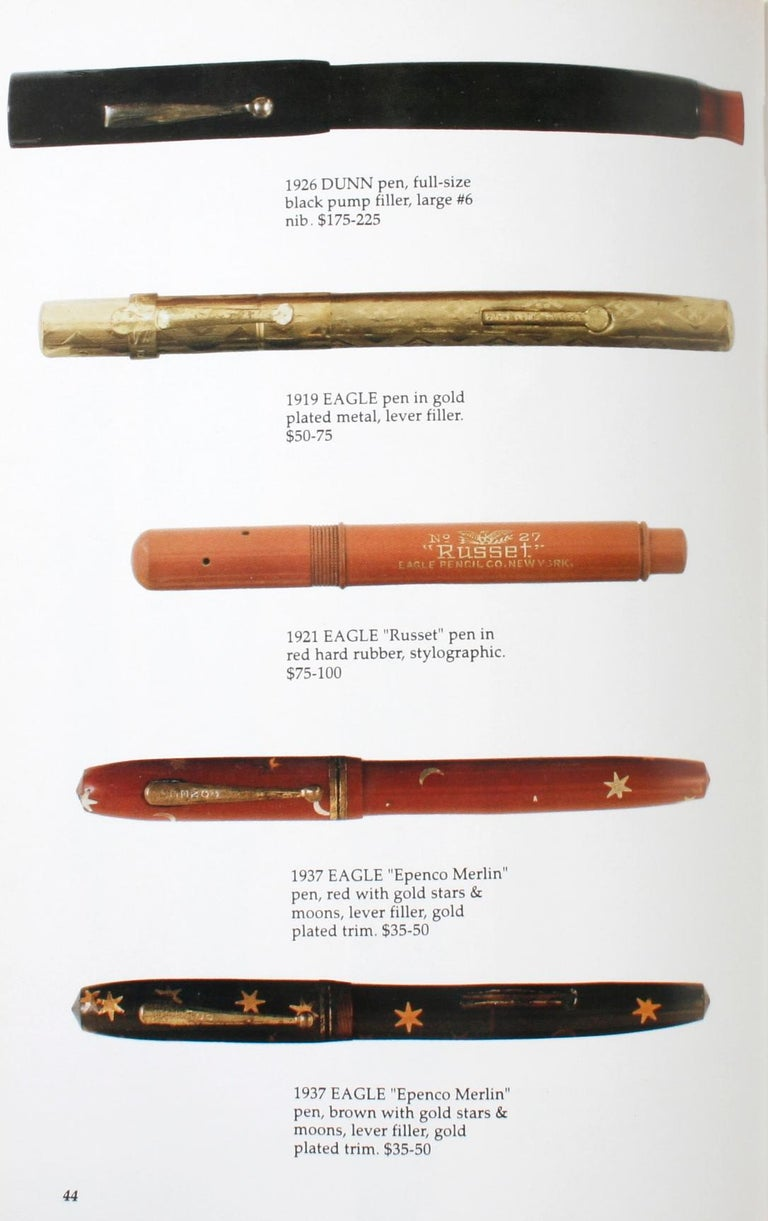 Illustrated Guide to Antique Writing Instruments by George Fischler, 1st Edition For Sale 5