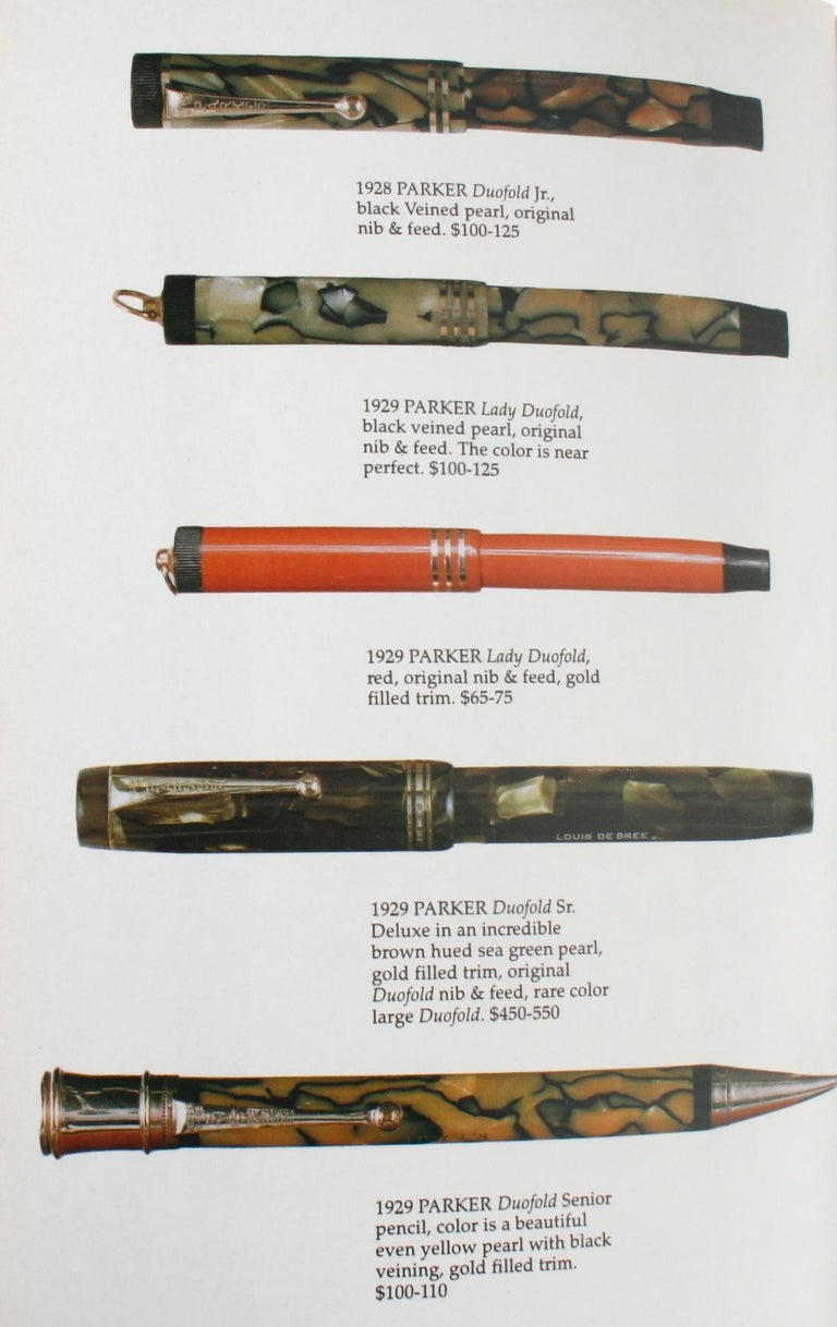 Illustrated Guide to Antique Writing Instruments by George Fischler, 1st Edition For Sale 7