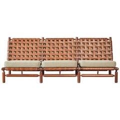 Ilmari Tapiovaara 3-Seat Sofa, Finland / Italy, 1950s