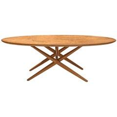 Ilmari Tapiovaara Coffee Table in Beech