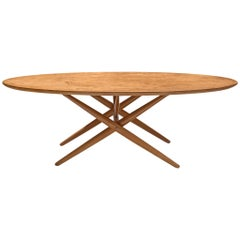 Ilmari Tapiovaara Coffee Table 'Ovalette'