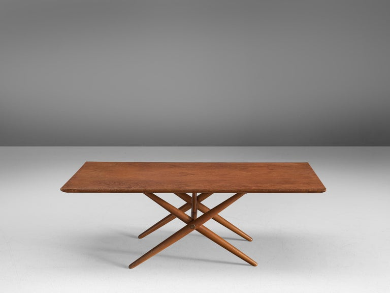 Ilmari Tapiovaara for Asko, 'Domino' coffee table, birch, Finland, 1953.