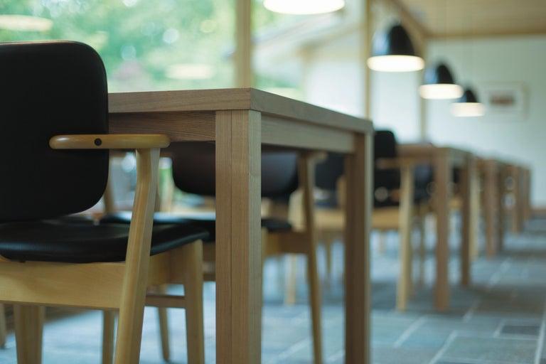 Ilmari Tapiovaara Domus Chair in Honey Stained Birch for Artek For Sale 11