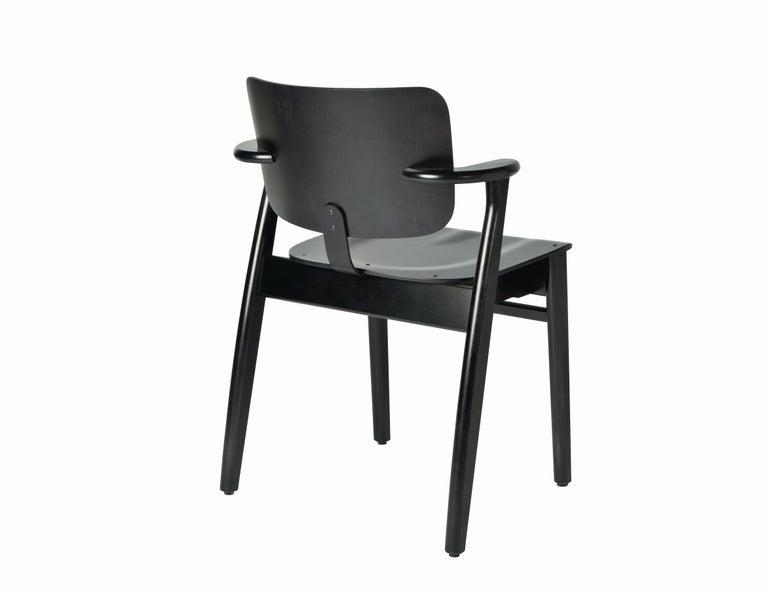 Ilmari Tapiovaara Domus Chair in Honey Stained Birch for Artek For Sale 1