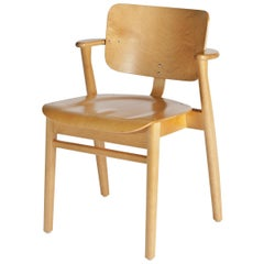 Ilmari Tapiovaara Domus Chair in Honey Stained Birch for Artek