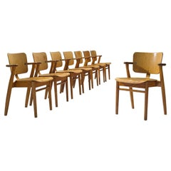 Ilmari Tapiovaara 'Domus' Dining Chairs in Birch