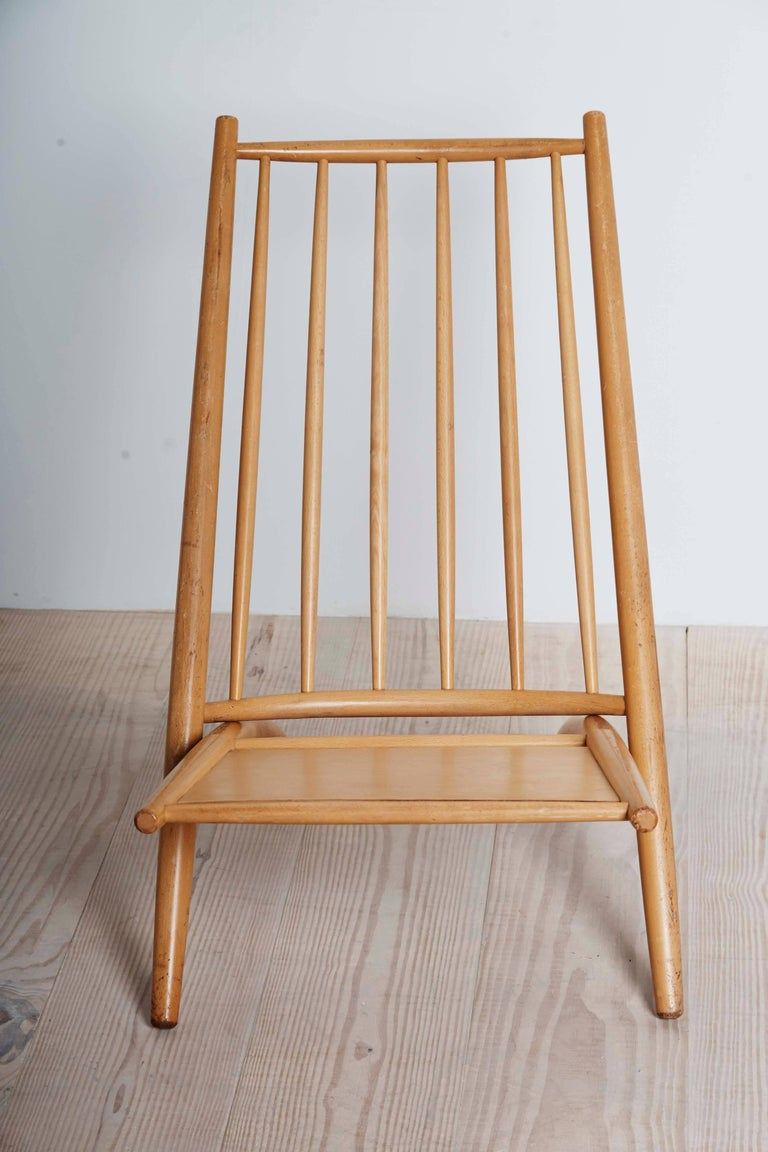 Ilmari Tapiovaara (1914 Finnish 1999), Congo chair, birch wood, Origin: Finland, circa 1953, Knock-down Construction (in two parts).