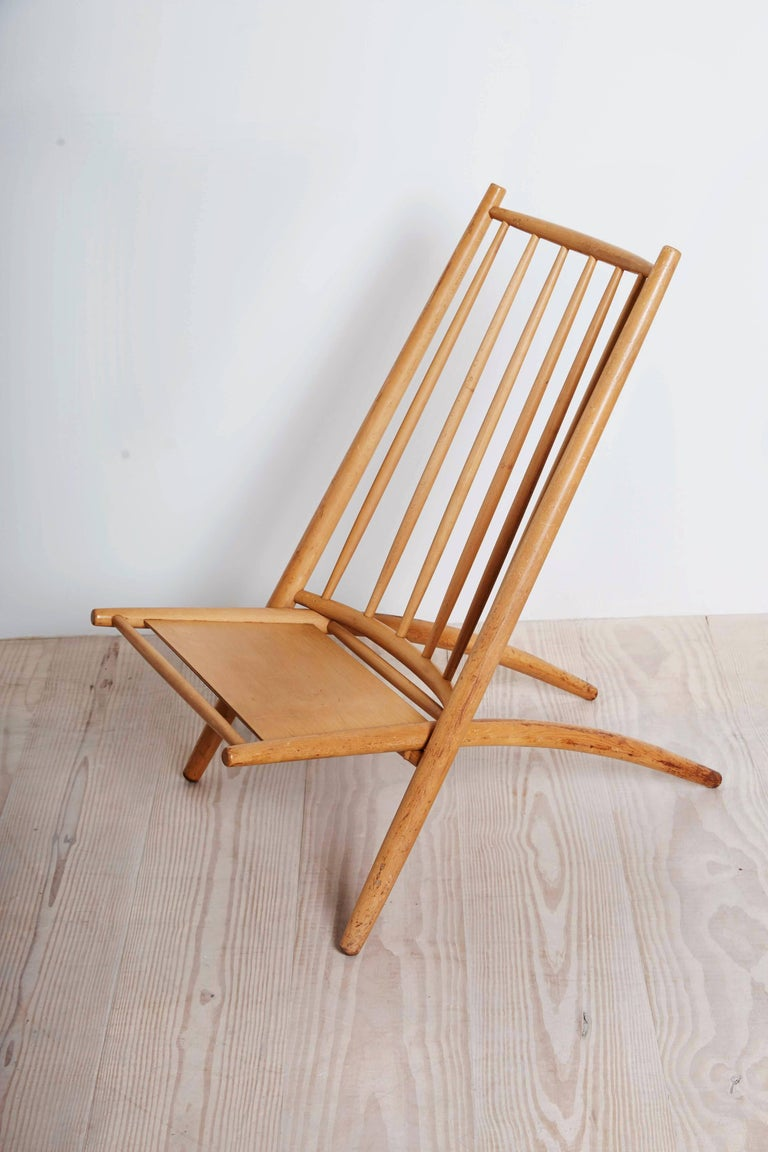Finnish Ilmari Tapiovaara, Early Congo Chair, circa 1953 For Sale