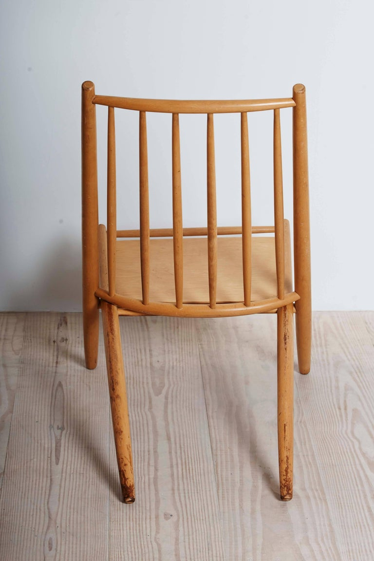 Birch Ilmari Tapiovaara, Early Congo Chair, circa 1953 For Sale