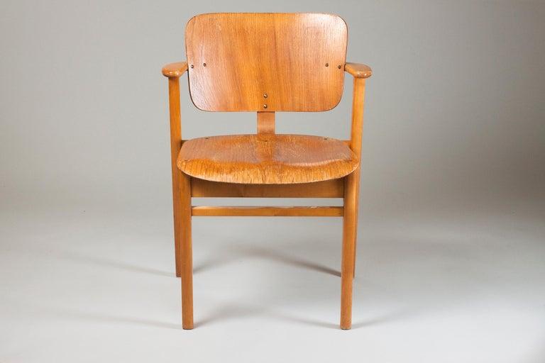 Scandinavian Modern Ilmari Tapiovaara Midcentury Domus Chair