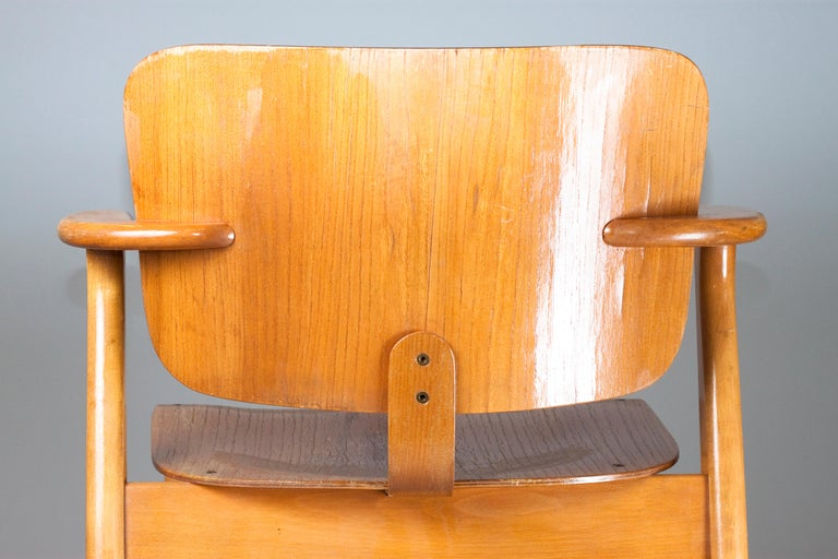 Laminated Ilmari Tapiovaara Midcentury Domus Chair
