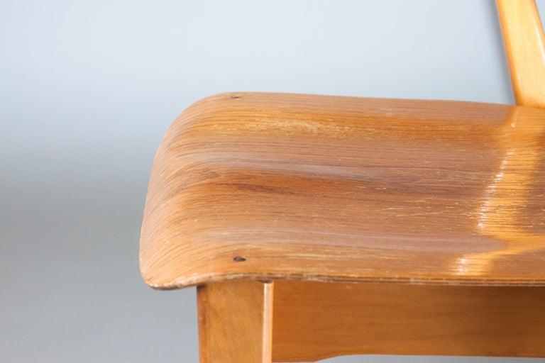 20th Century Ilmari Tapiovaara Midcentury Domus Chair
