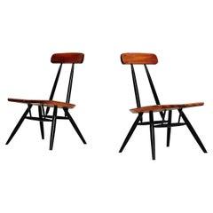 Ilmari Tapiovaara Pirkka Pair of Lounge Chairs, Finland, 1955