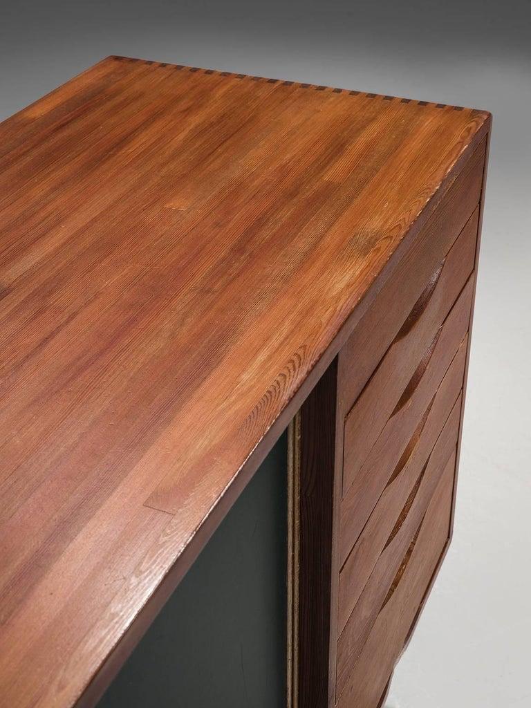 Ilmari Tapiovaara 'Pirkka' Sideboard in Pine In Good Condition For Sale In Waalwijk, NL