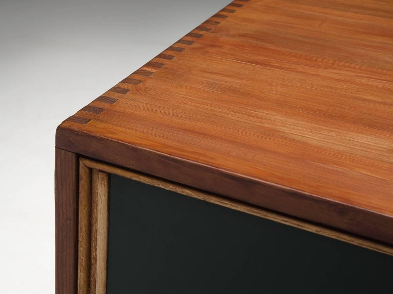 Mid-20th Century Ilmari Tapiovaara 'Pirkka' Sideboard in Pine For Sale
