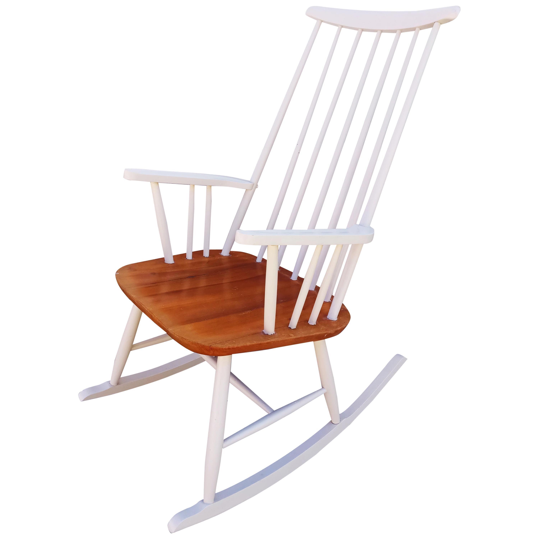 Ilmari Tapiovaara Rocking Chair for Asko, 1950s