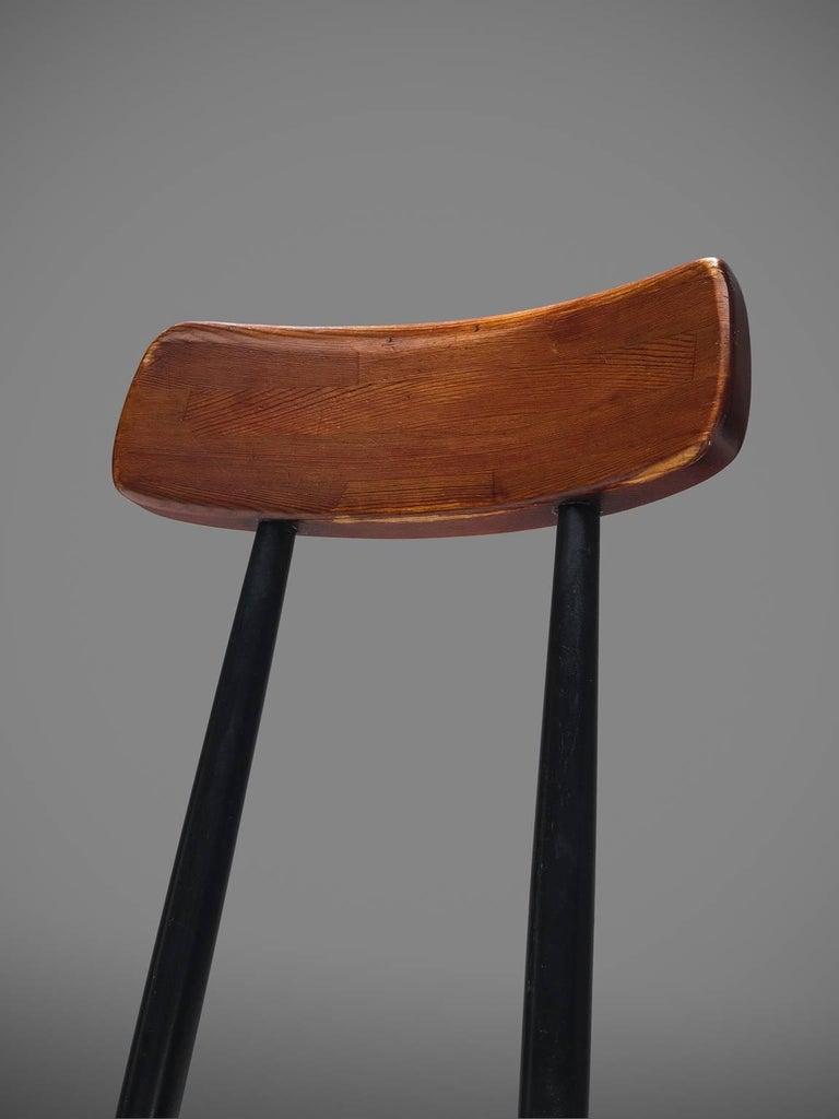 Ilmari Tapiovaara Set of Four Pirkka Chairs For Sale 1