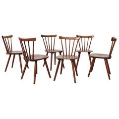 Ilmari Tapiovaara Style Dining Chairs