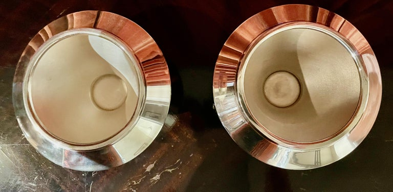Ilonka Karrasz Industrial Design Modernist Pair of Bowls In Good Condition For Sale In Oakland, CA