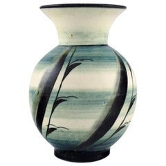 Ilse Claesson for Rörstrand, Rare Vase in Glazed Ceramics, 1920s-1930s