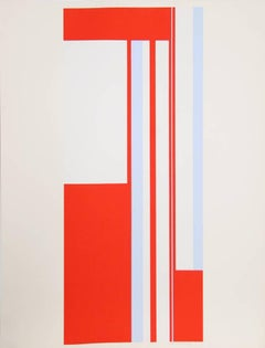 Series 1, De Stijl Geometric Abstract by Bolotowsky