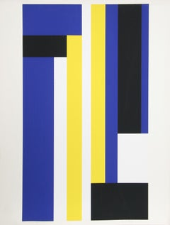 Series 8, Geometric Abstract Serigraph