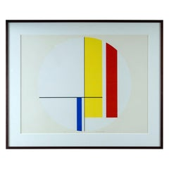 Ilya Bolotowsky Signed and Editioned Silkscreen Print
